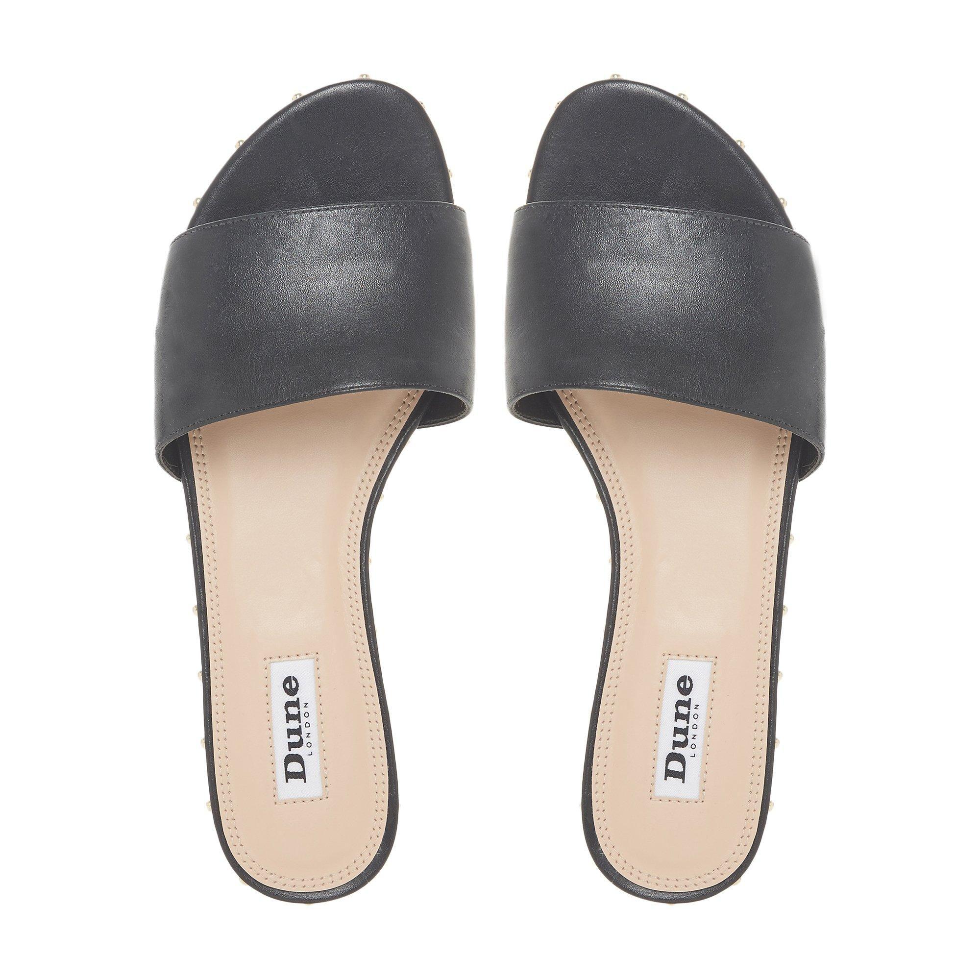 Dune Ladies LANES Studded Slider Sandals