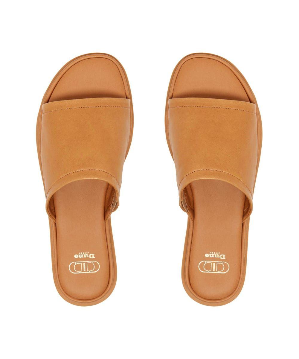 Dune Ladies LAURENA Soft Leather Slides