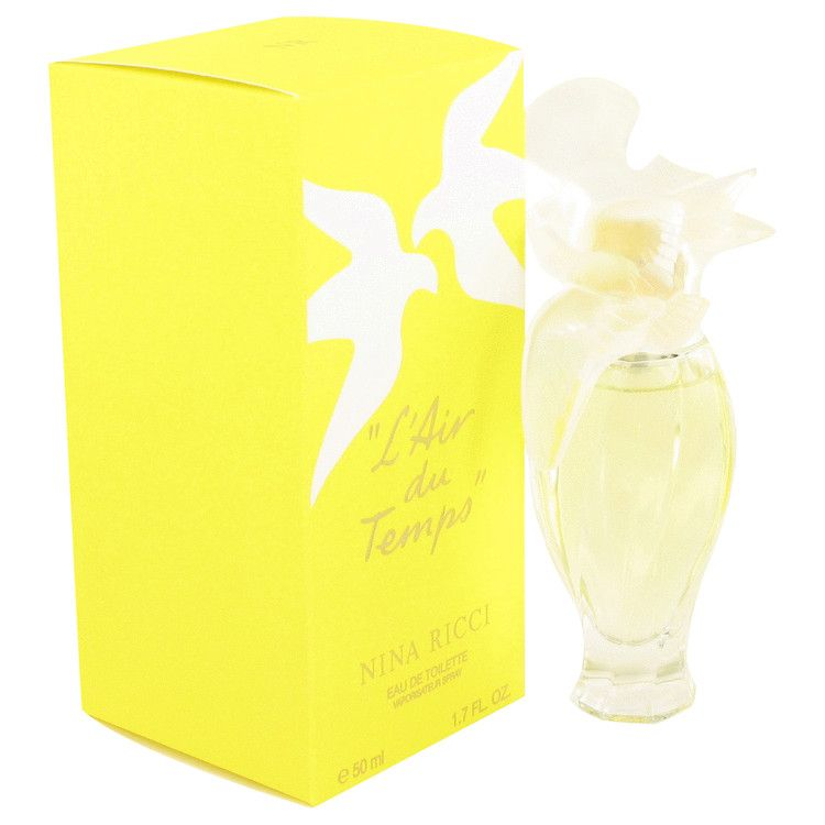 L'air Du Temps Eau De Toilette Spray With Bird Cap By Nina Ricci 50 ml
