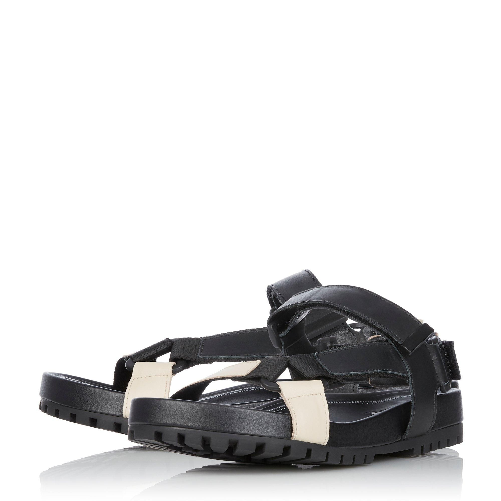 Dune Ladies LISTEN Chunky Flat Sandals