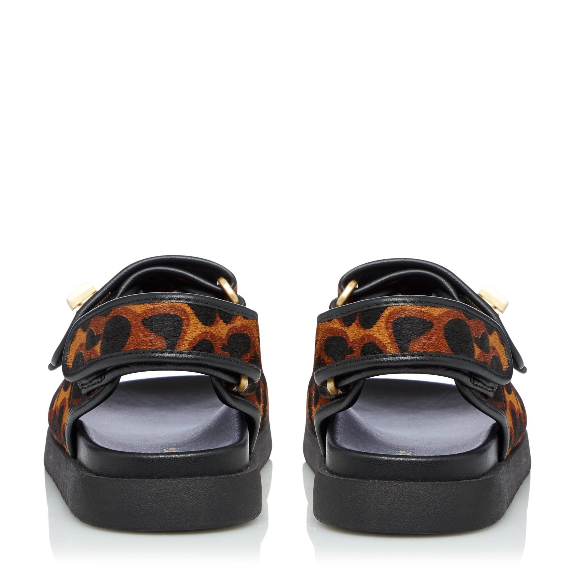 Dune Ladies LOCKSTOCKK Double Strap Flat Sandals