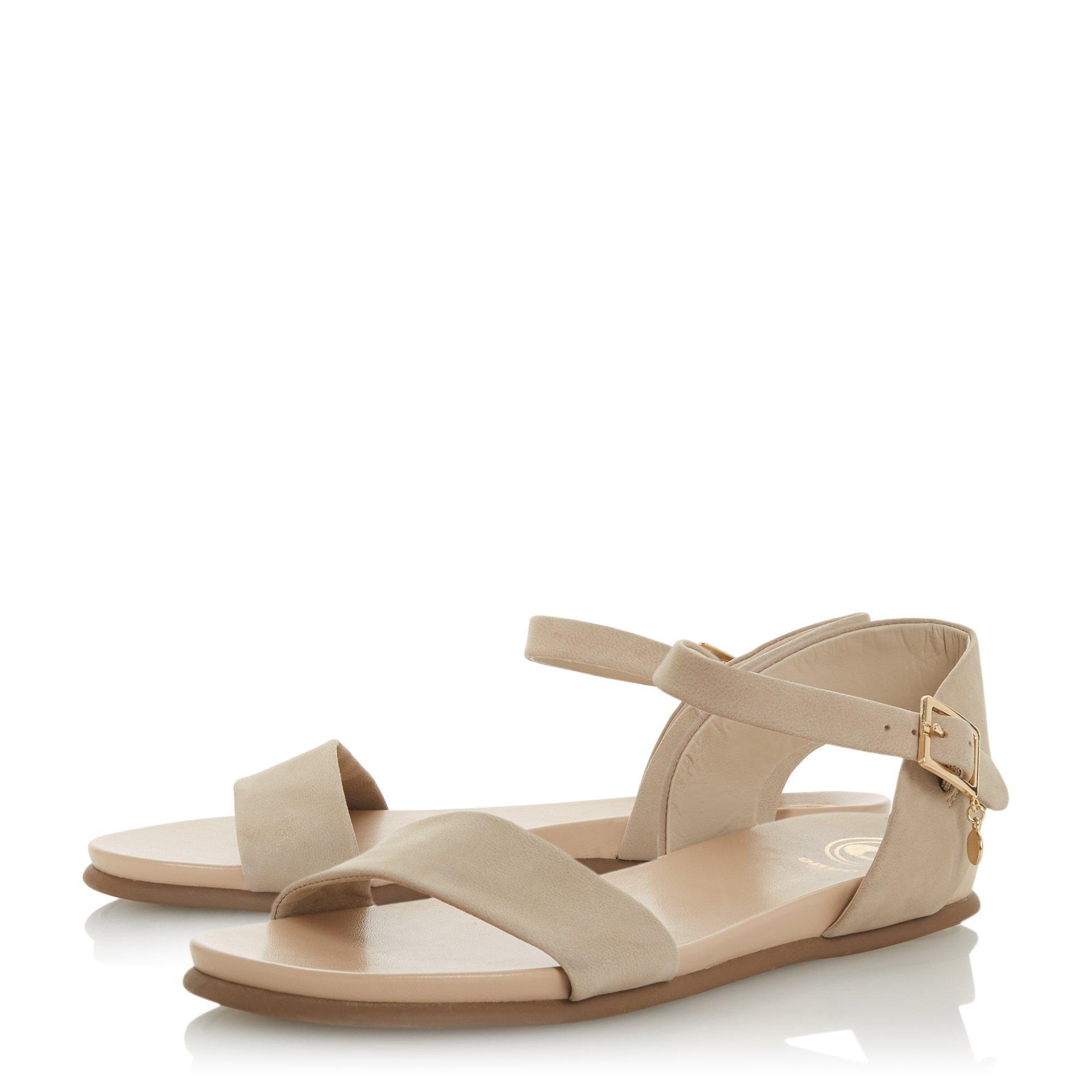 Dune Ladies LONDONERR Two Part Flat Sandals