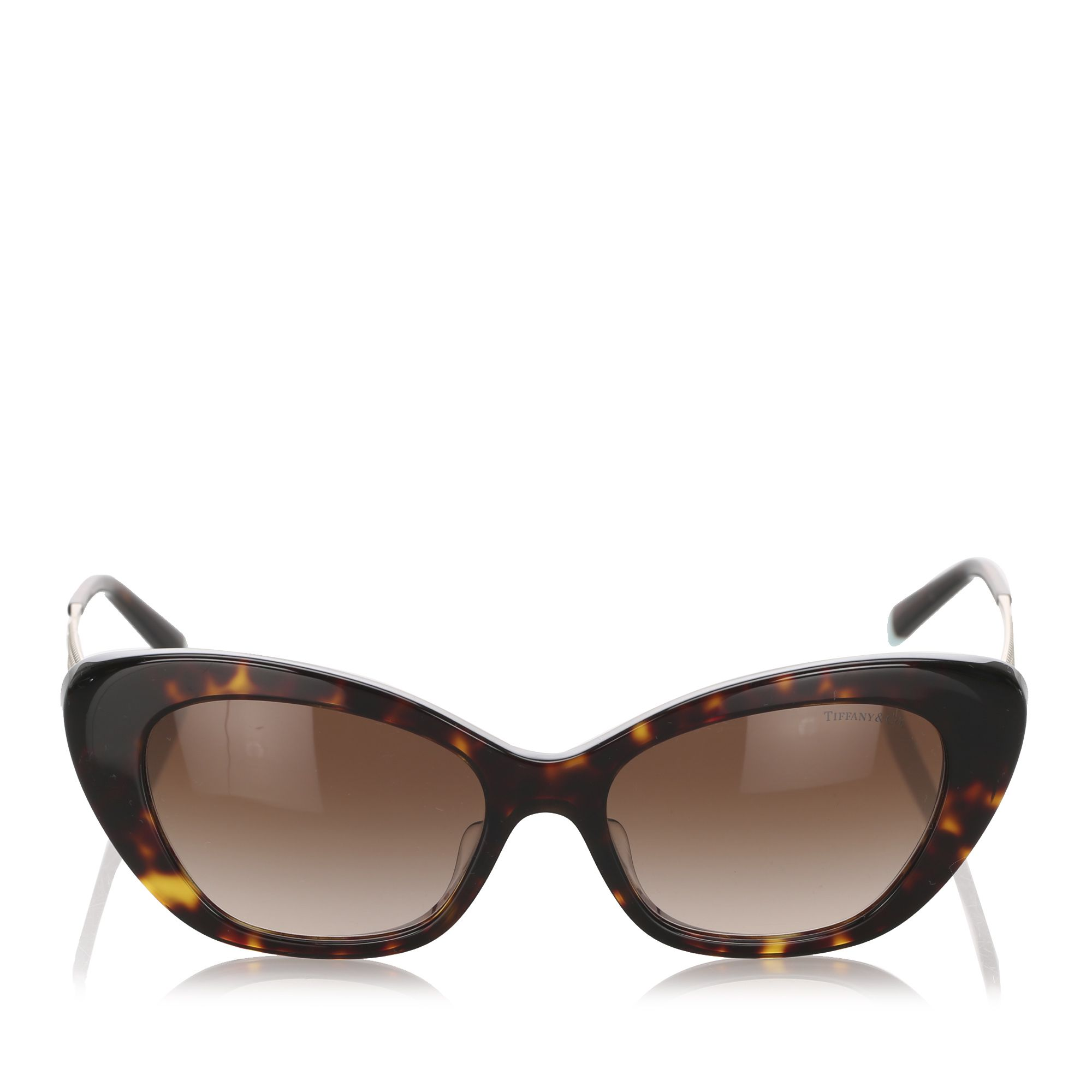 Tiffany Cat Eye Tinted Sunglasses Brown