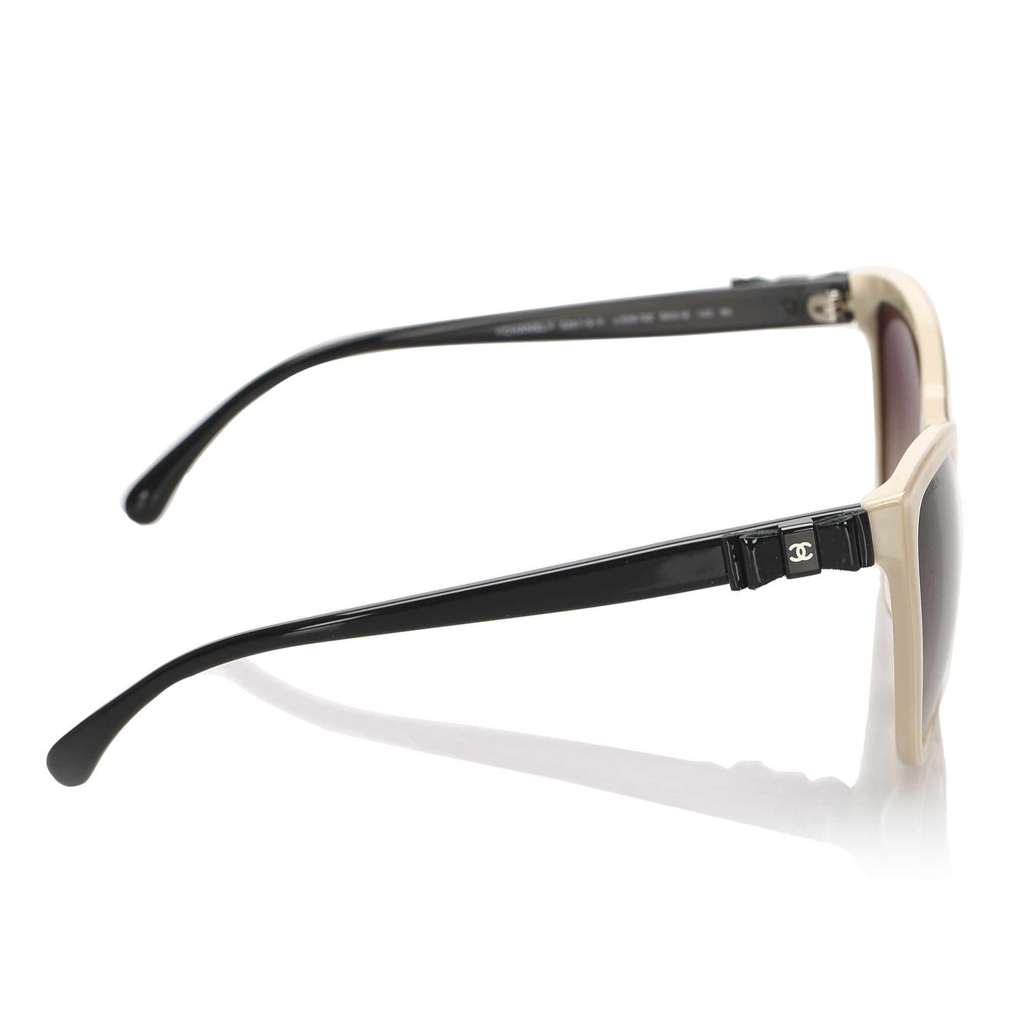 Vintage Chanel Cat Eye Tinted Sunglasses Brown
