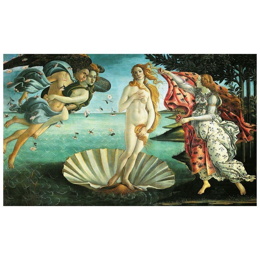 Canvas Print - The Birth Of Venus - Sandro Botticelli Cm. 60x100