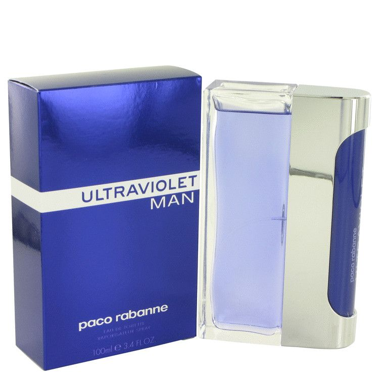 Ultraviolet Eau De Toilette Spray By Paco Rabanne 100 ml