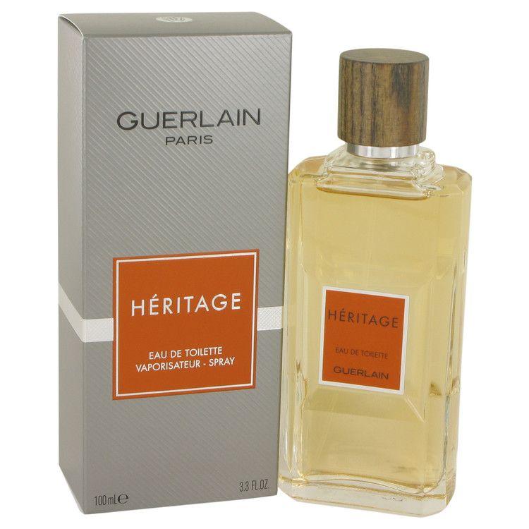Heritage Eau De Toilette Spray By Guerlain 100 ml