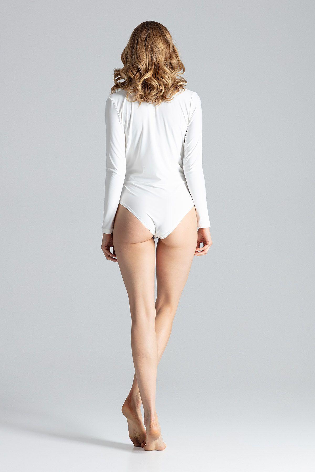 Beige Long-Sleeve Body