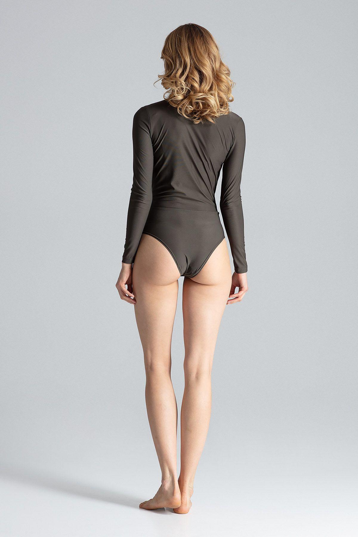 Olive Elegant Long-Sleeved Body