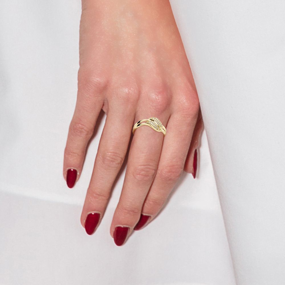DIADEMA - Ring - Prestige Jewelery - Diamonds - Yellow Gold