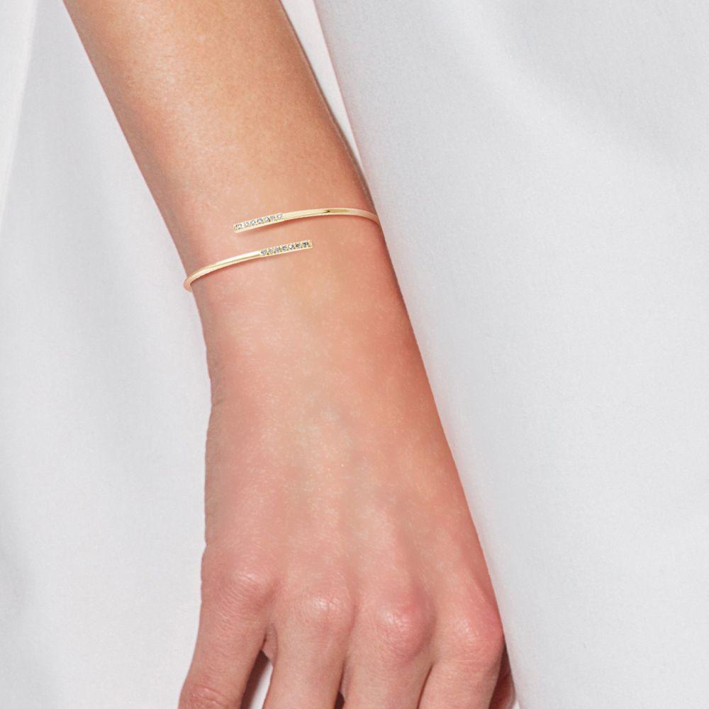 DIADEMA - Bracelet - Prestige Jewelery - Diamonds - Yellow Gold