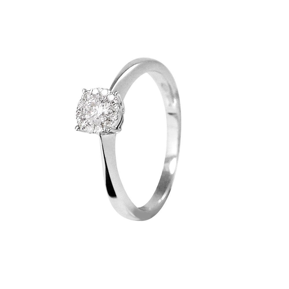DIADEMA - Ring - Diamonds - White Gold