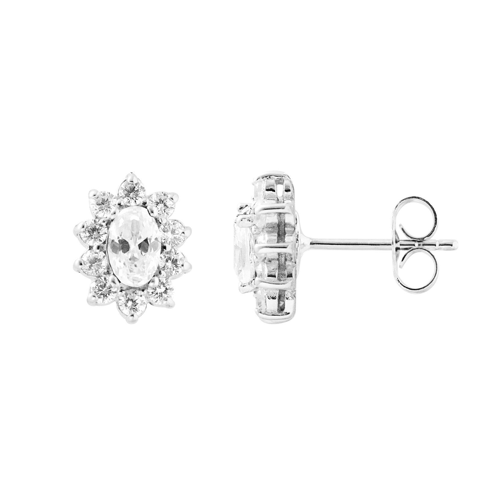 DIADEMA - Earrings - Crystal - Collection Crystal Pearl