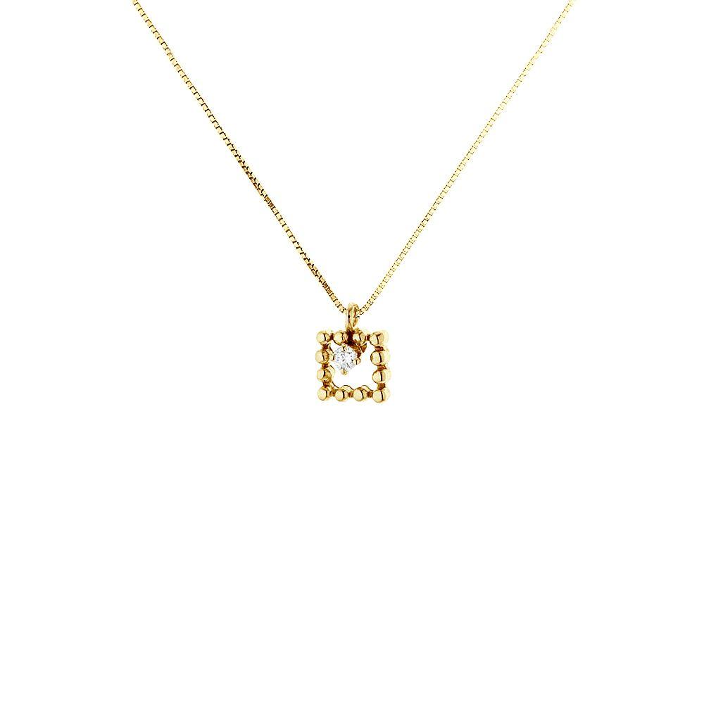 DIADEMA - Necklace with Diamonds - White Gold