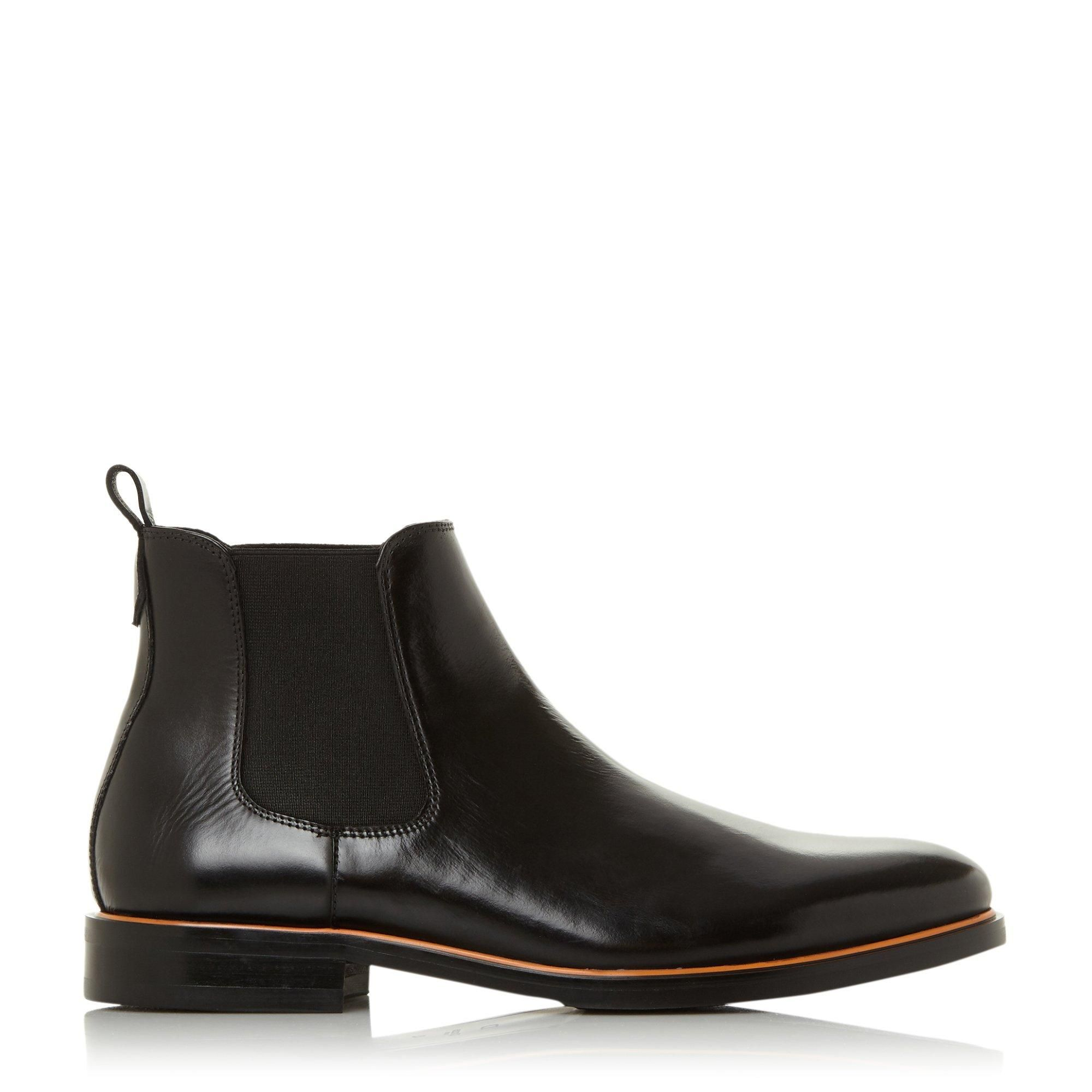 Dune Mens MELODYS Contrast Piping Chelsea Boots