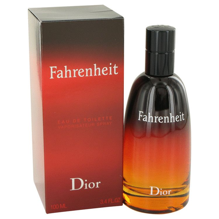 Fahrenheit Eau De Toilette Spray By Christian Dior 100 ml