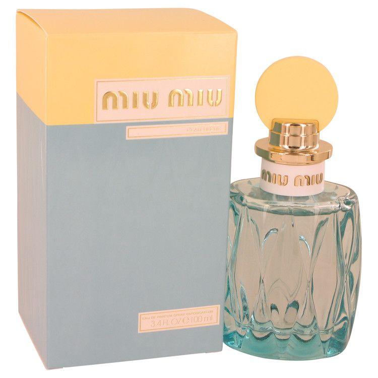 Miu Miu L'eau Bleue Eau De Parfum Spray By Miu Miu 100 ml