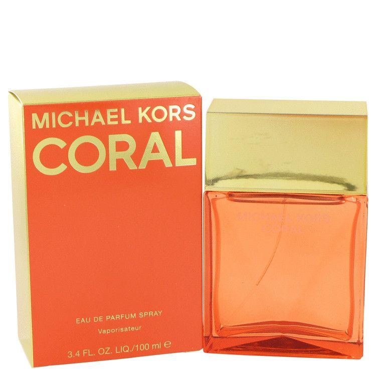 Michael Kors Coral Eau De Parfum Spray By Michael Kors 100 ml