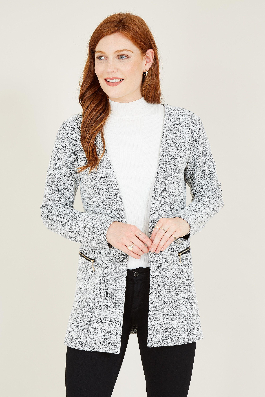 Textured Two Zip Jacket