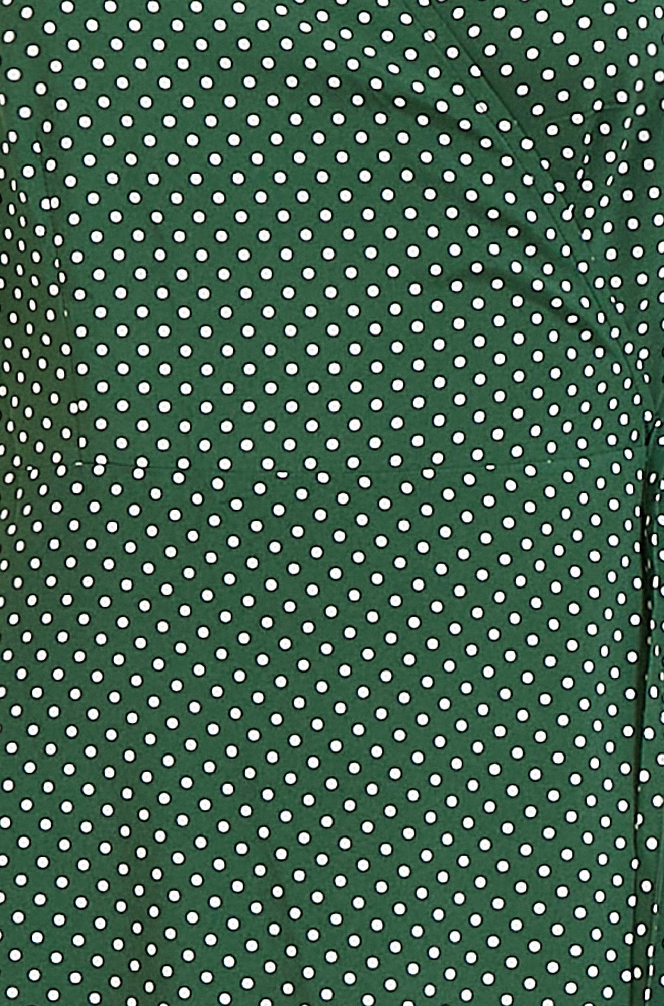 Mela Spot Printed Midi Wrap Dress