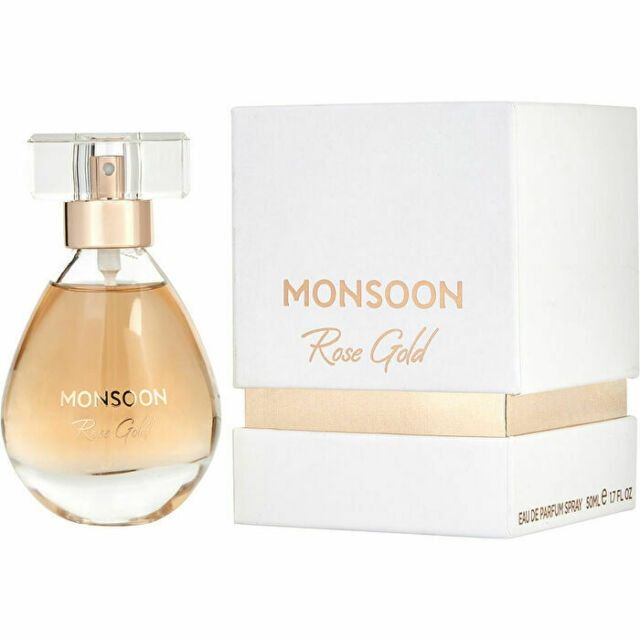 Monsoon Rose Gold Eau De Parfum Spray 50Ml