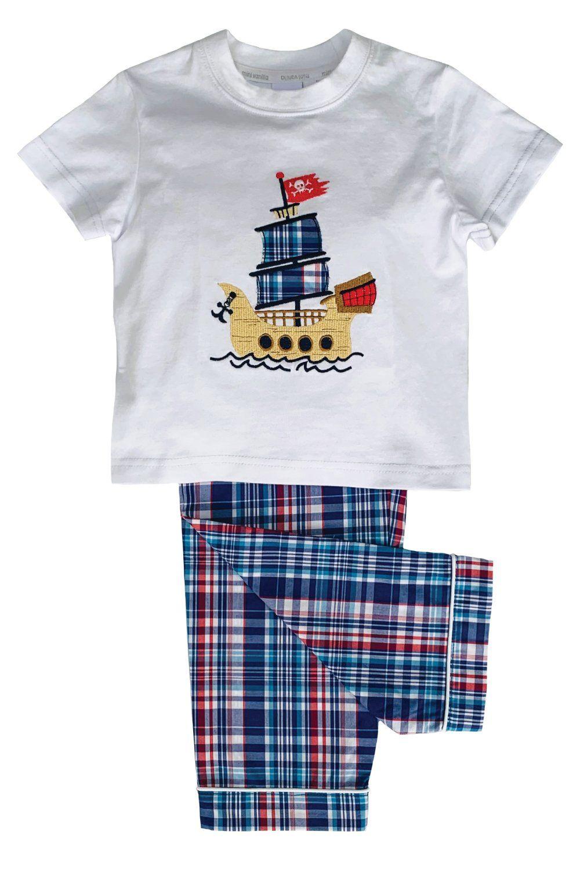 Galleon Pirate ship Pyjamas for Boys