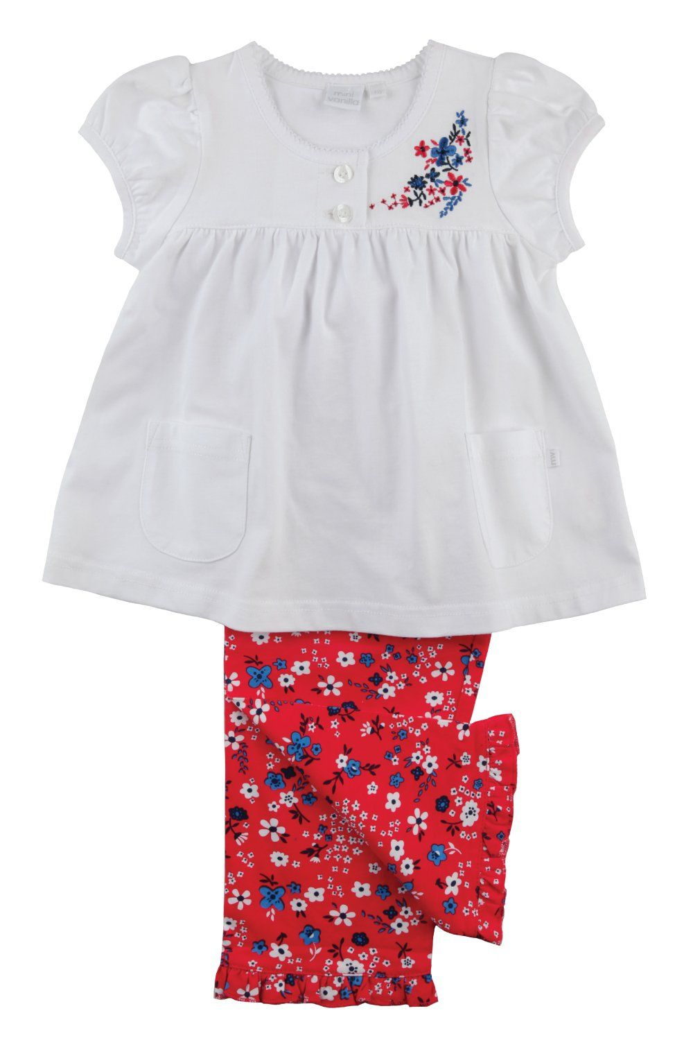 Pretty flowered Pyjamas for girls