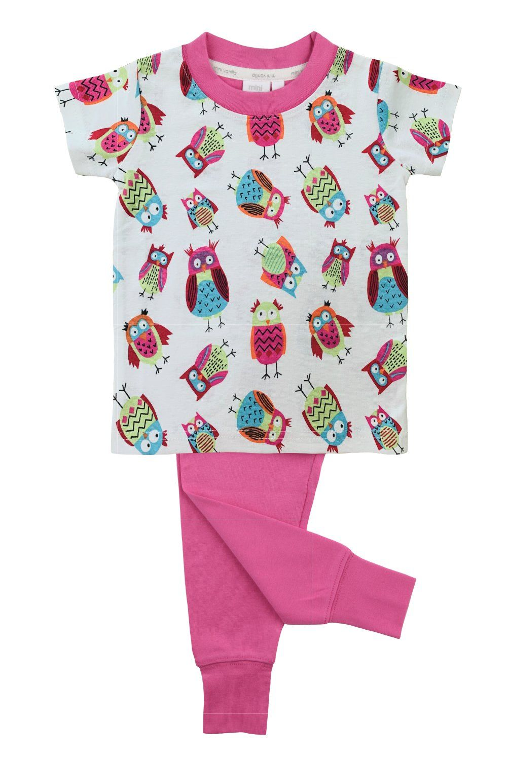 Owl print slim fit Pyjamas for Girls
