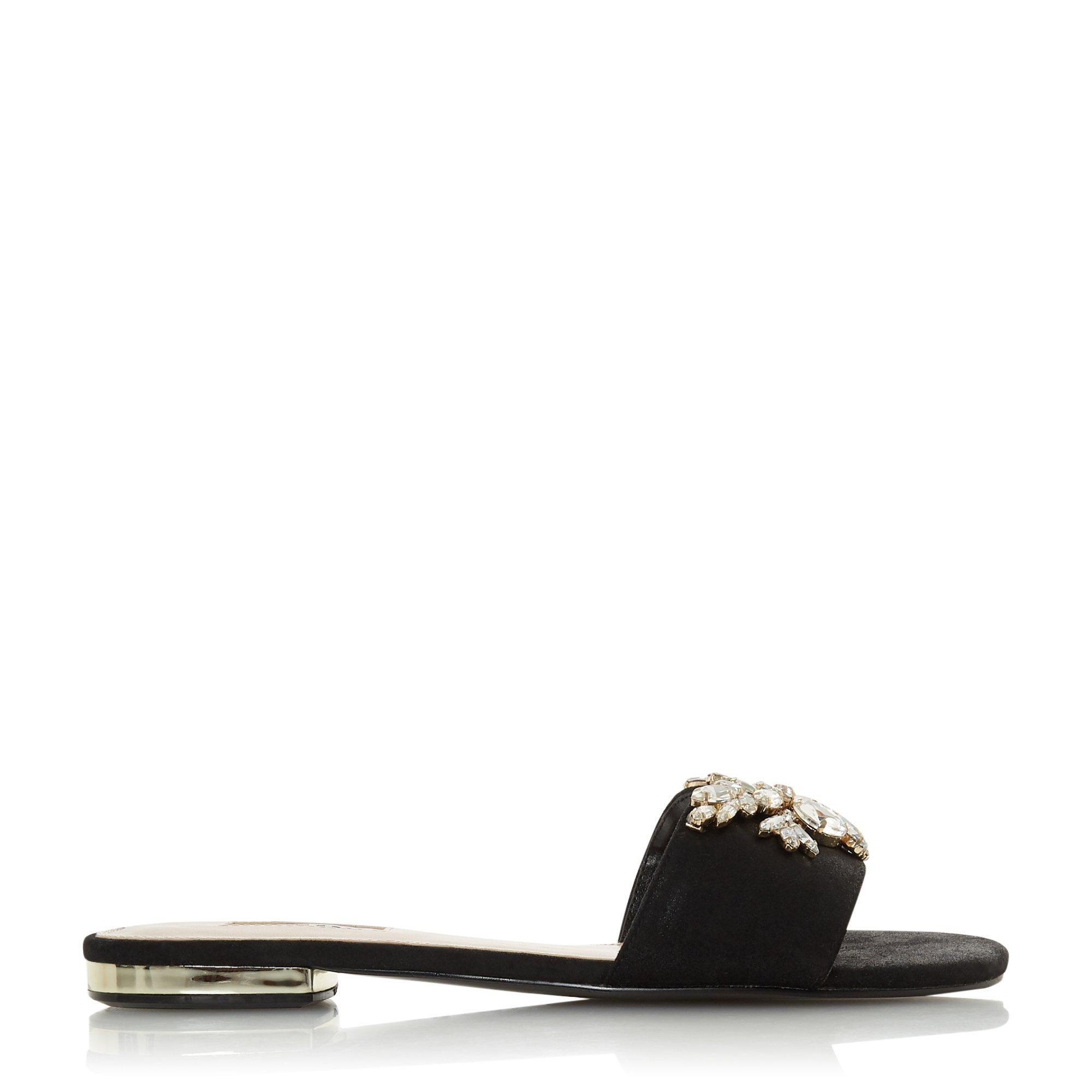 Dune Ladies NARYN Slip On Mule Sandals
