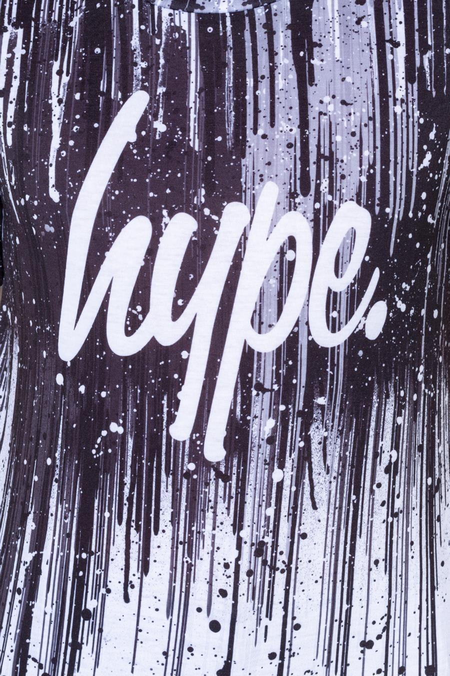 Hype Mono Paint Drips Kids T-Shirt