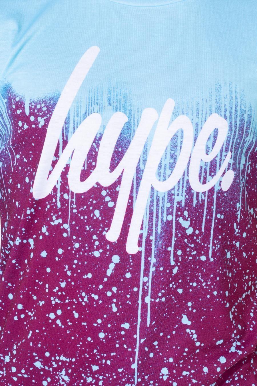 Hype Invert Plum Drips Kids T-Shirt