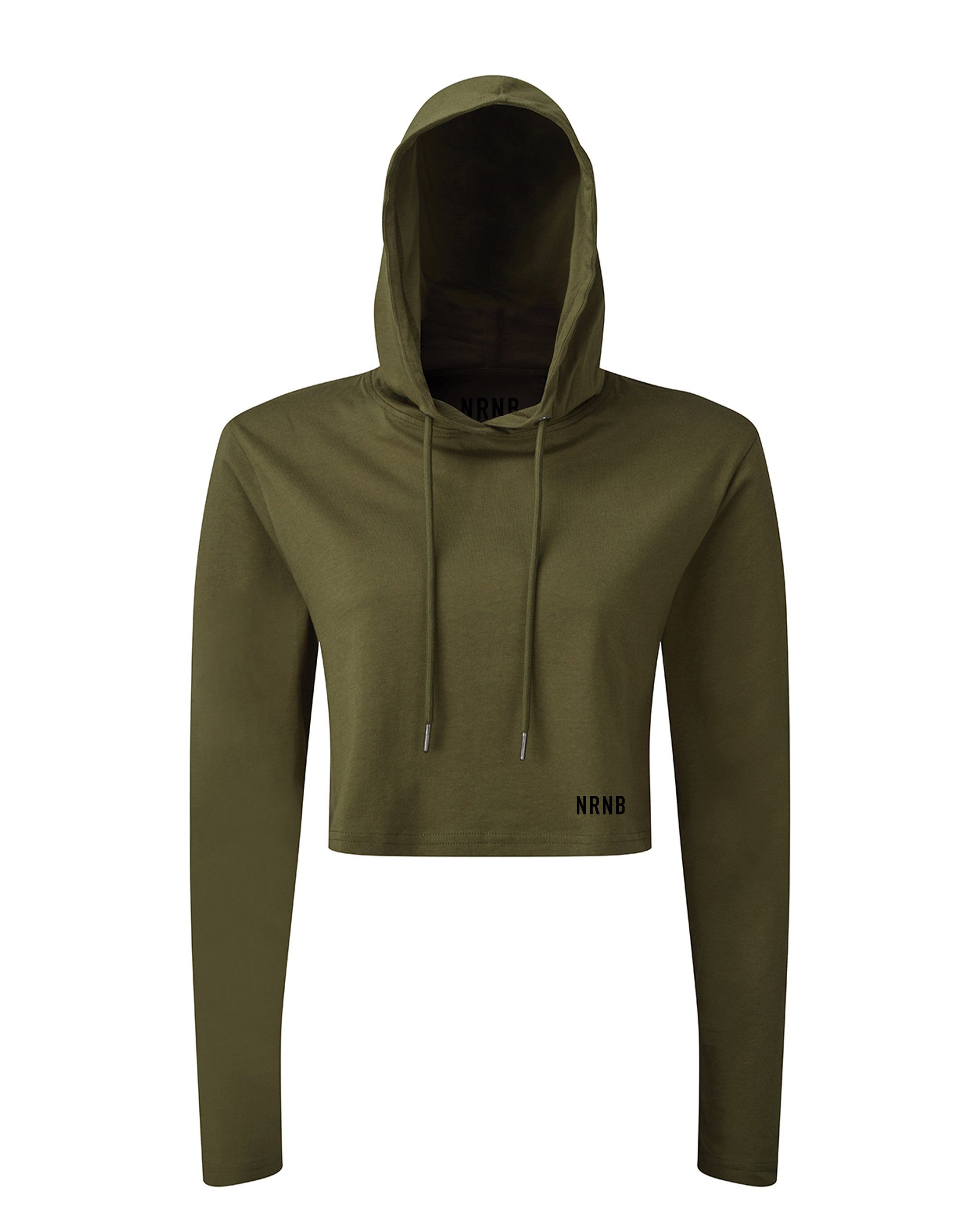 Cropped Hooded Tee