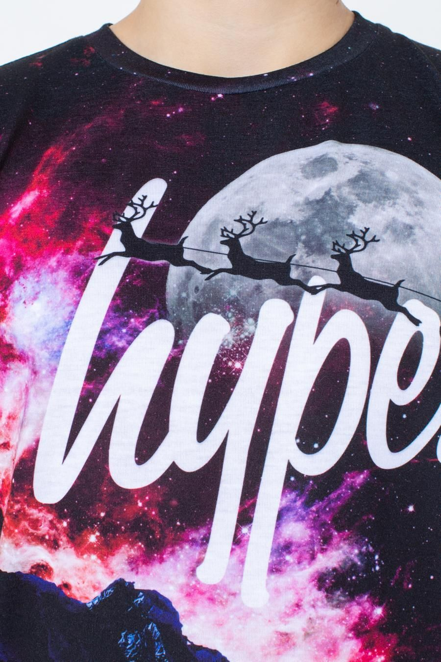 Hype Sleigh Me To The Moon Kids T-Shirt