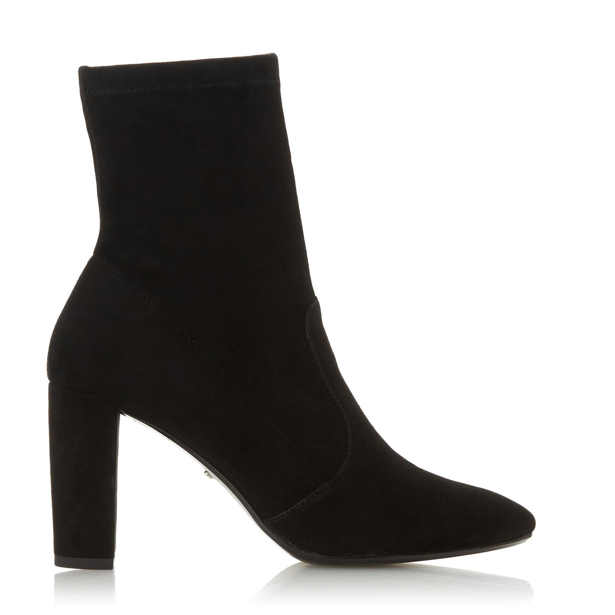 Dune Ladies OPTICAL Stretch Sock Ankle Boots