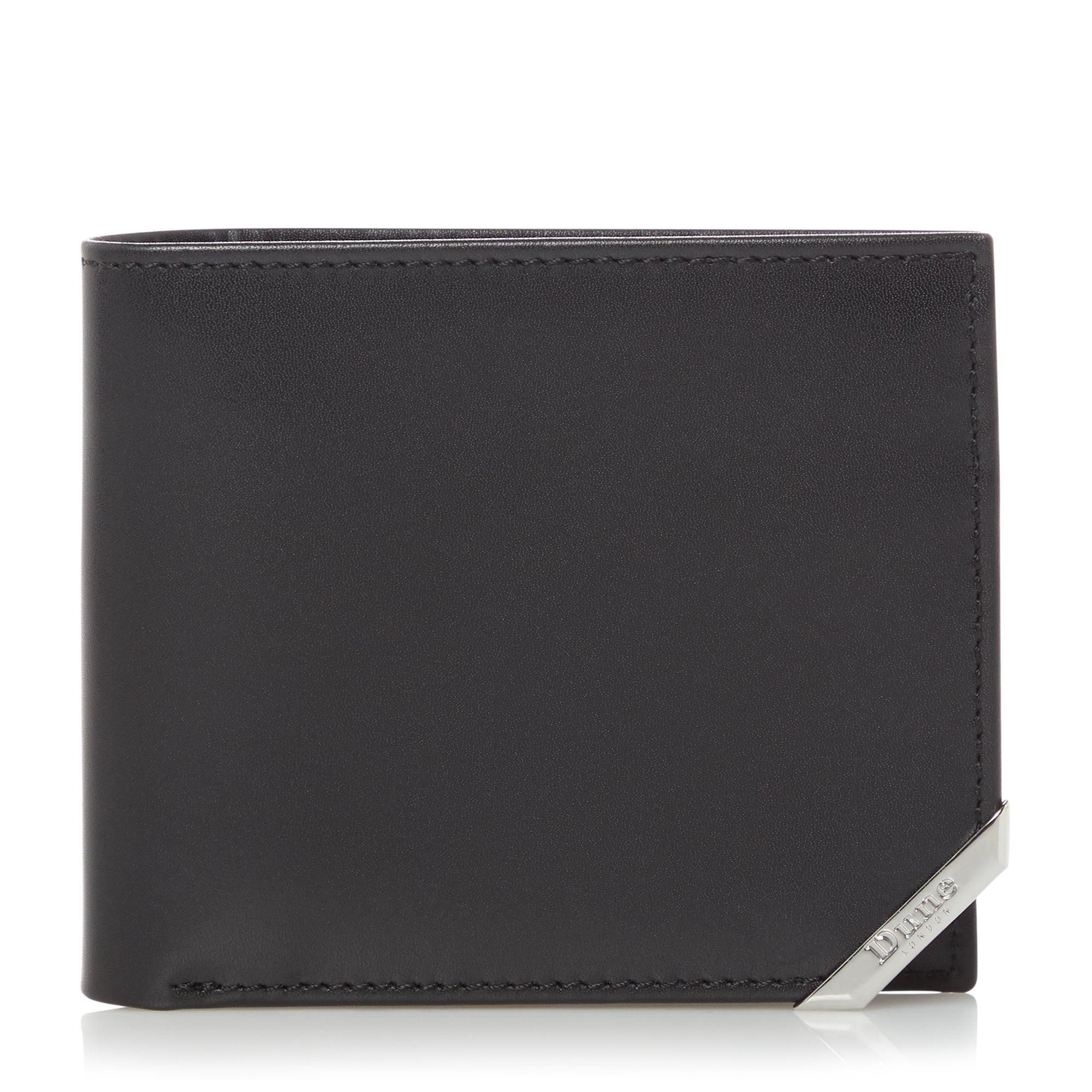Dune Mens ORIONS Metal Tipped Wallet