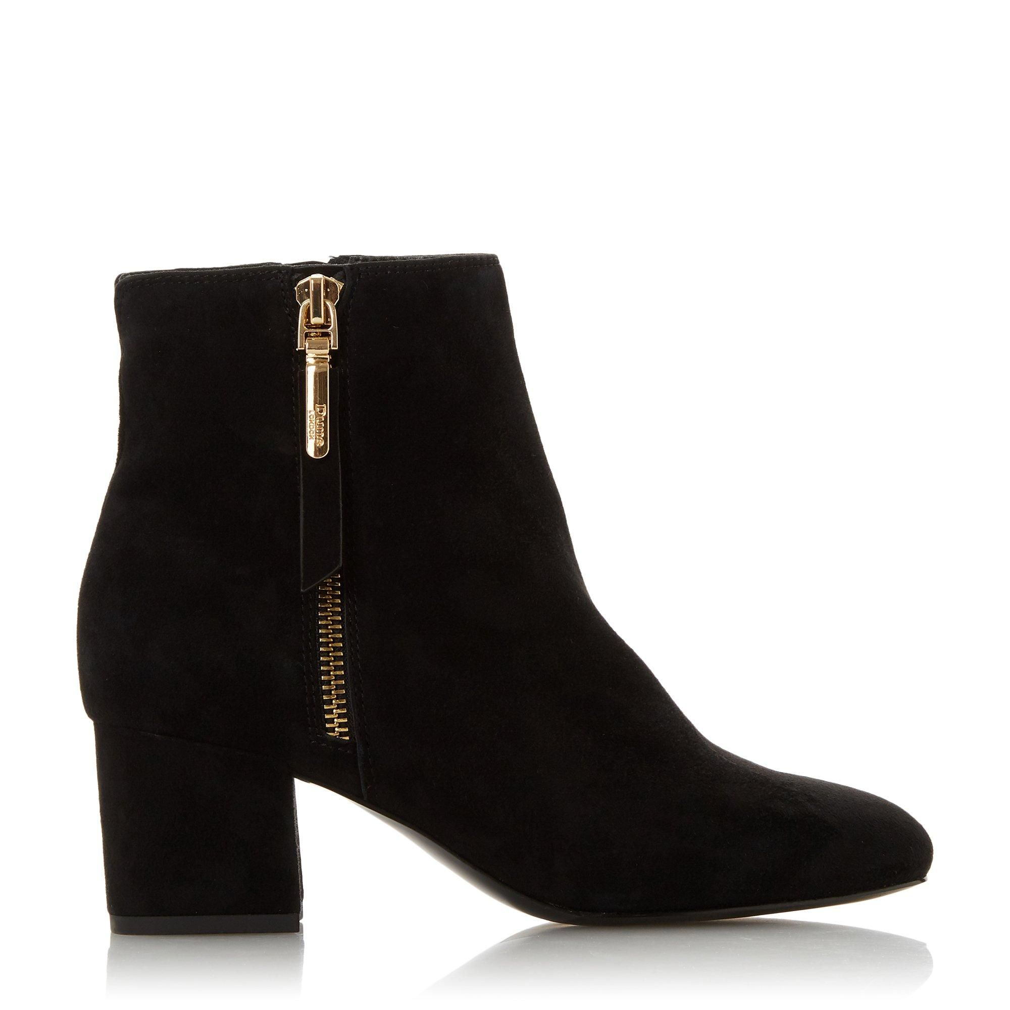 Dune Ladies ORLLA Side Zip Ankle Boots