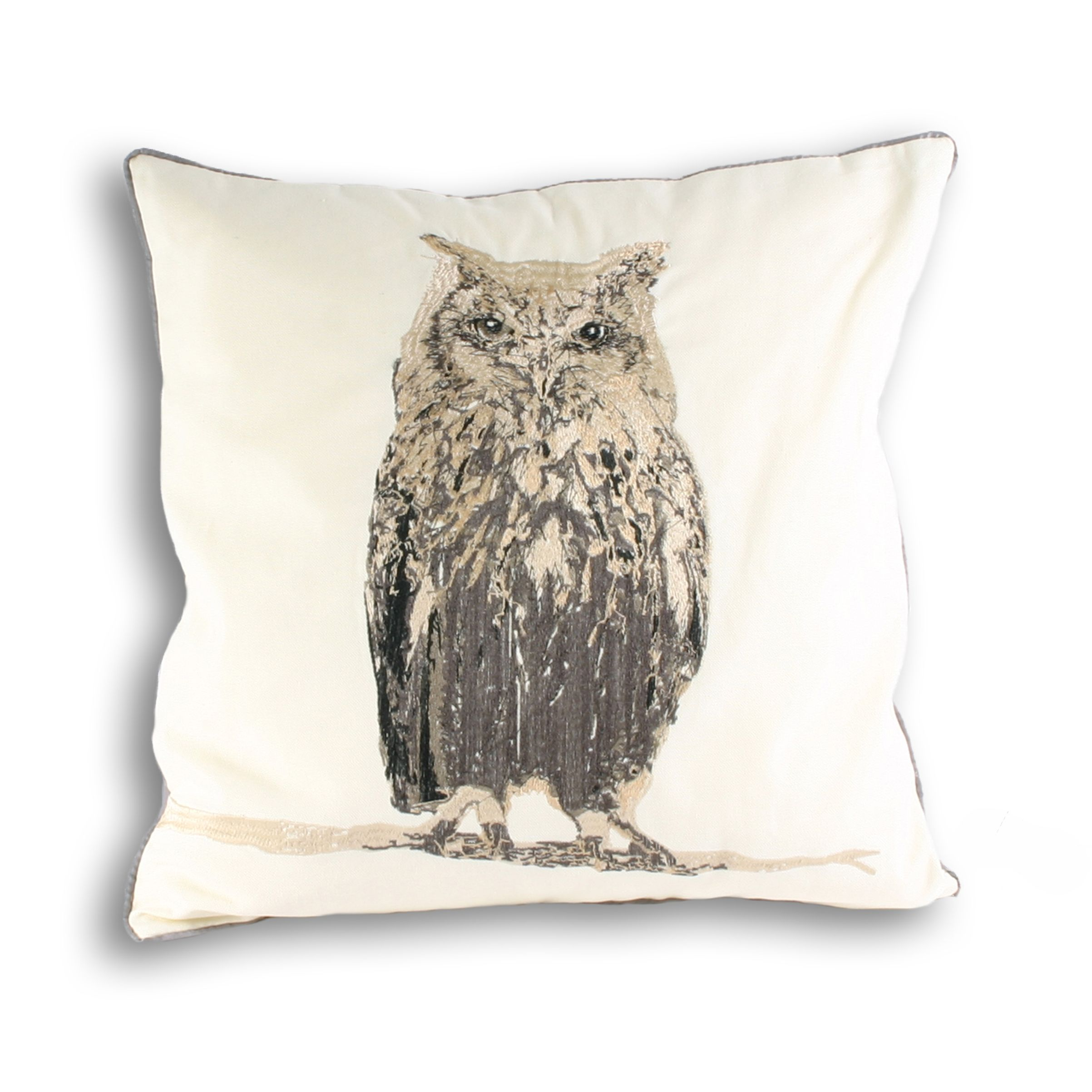 Owl Polyester Filled Cushion