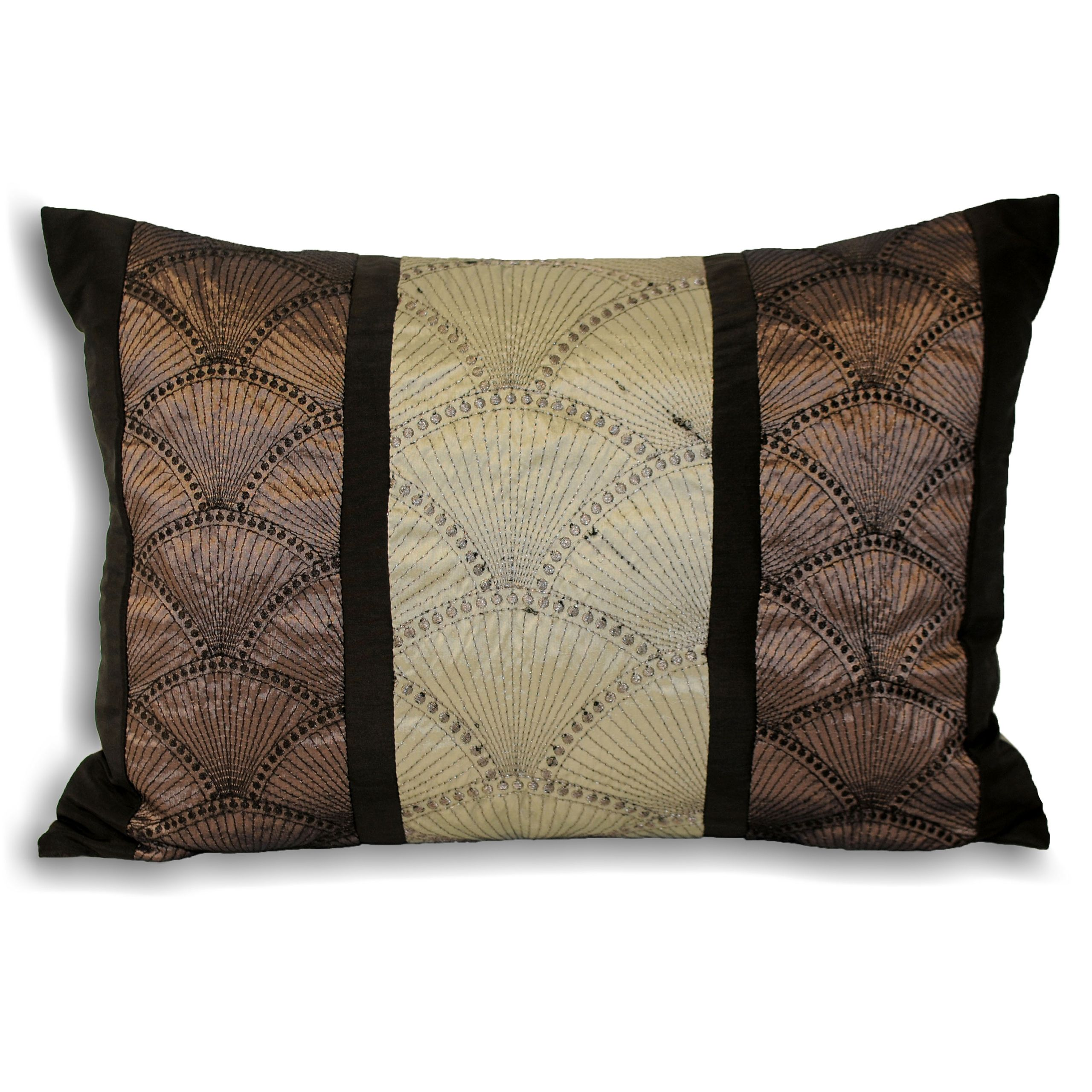 Oyster Polyester Filled Cushion