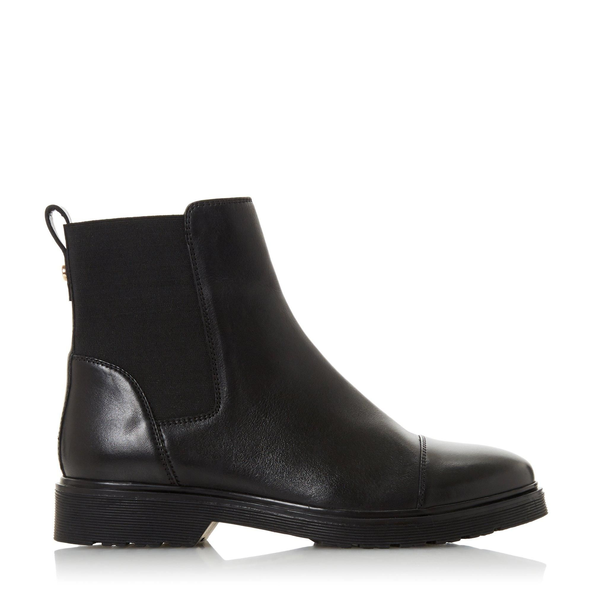 Dune Ladies PAYSAN Cleated Chelsea Boots