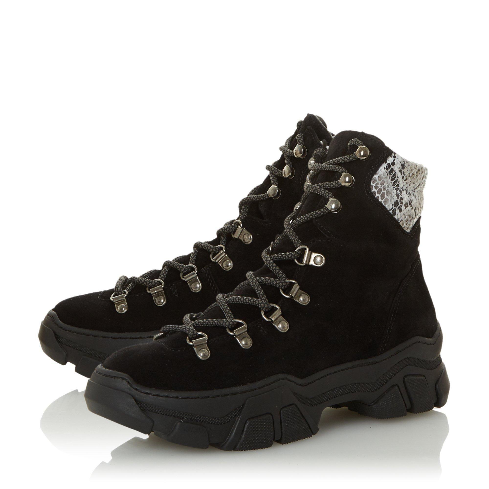 Dune Ladies PERIMETER Lace Up Hiker Boots