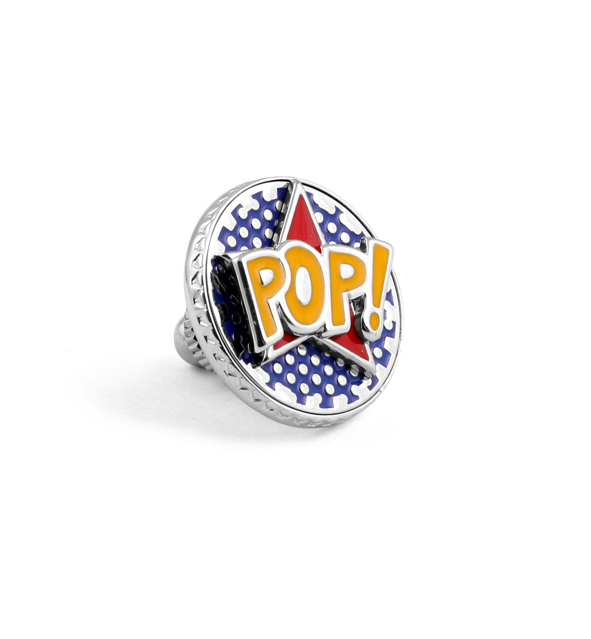POP Comics style cufflink