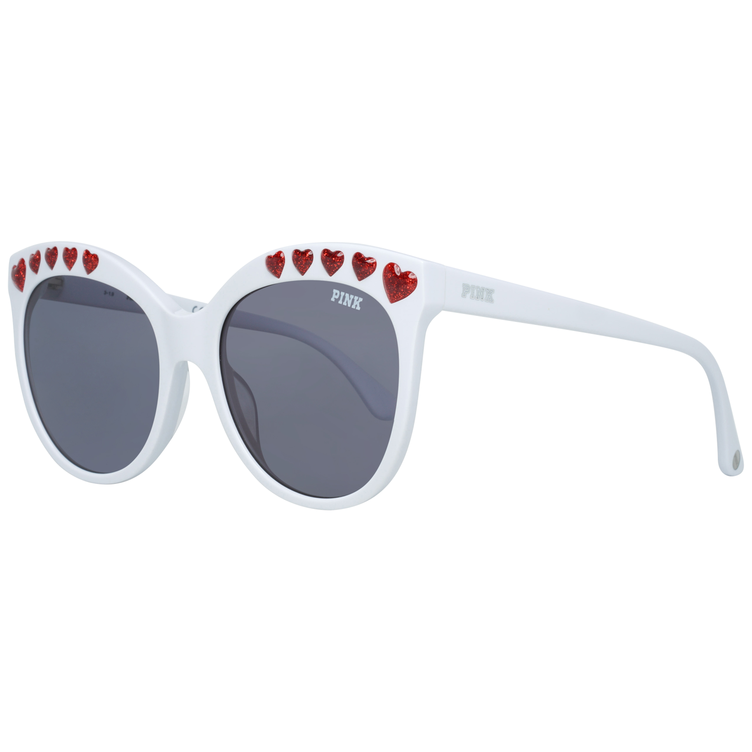 Victoria's Secret Pink Sunglasses PK0009 25A 57 Women White