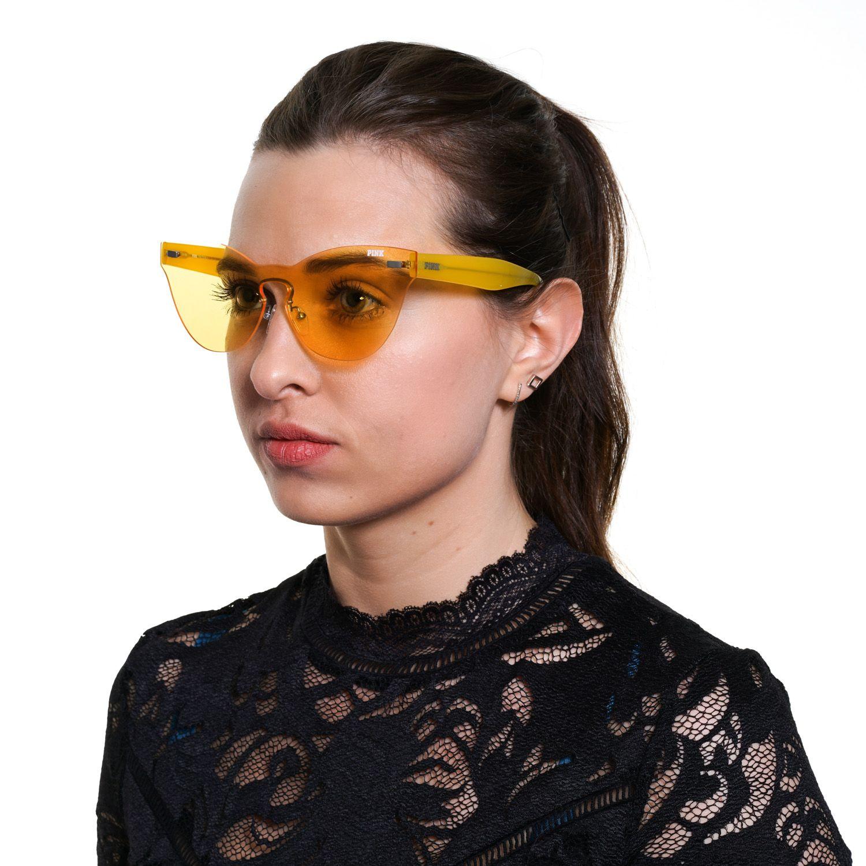 Victoria's Secret Pink Sunglasses PK0011 41G 00 Women Yellow