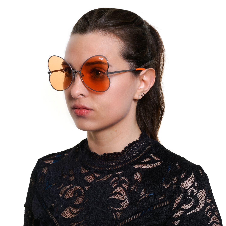Victoria's Secret Pink Sunglasses PK0012 16F 59 Women Silver