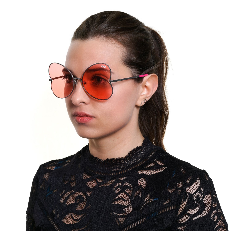 Victoria's Secret Pink Sunglasses PK0012 16T 59 Women Silver