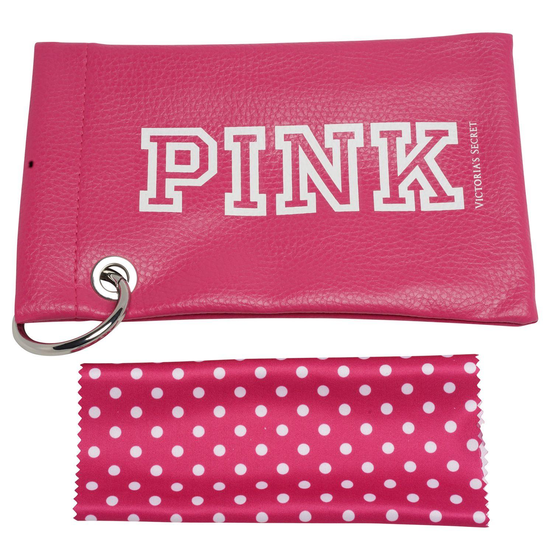 Victoria's Secret Pink Sunglasses PK0012 16X 59 Women Silver