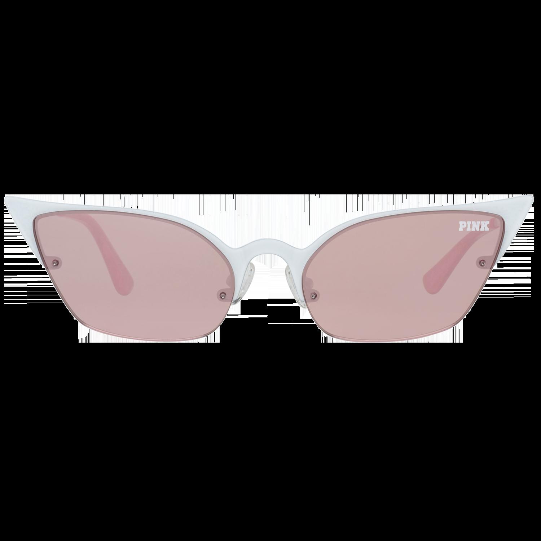 Victoria's Secret Pink Sunglasses PK0016 25Z 55 Women White