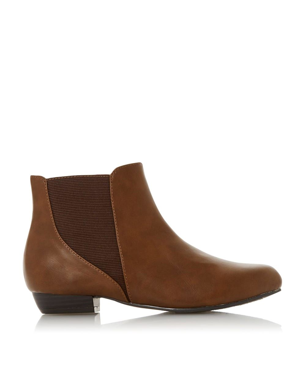 Head Over Heels by Dune Ladies POLINA Round Toe Ankle Boots