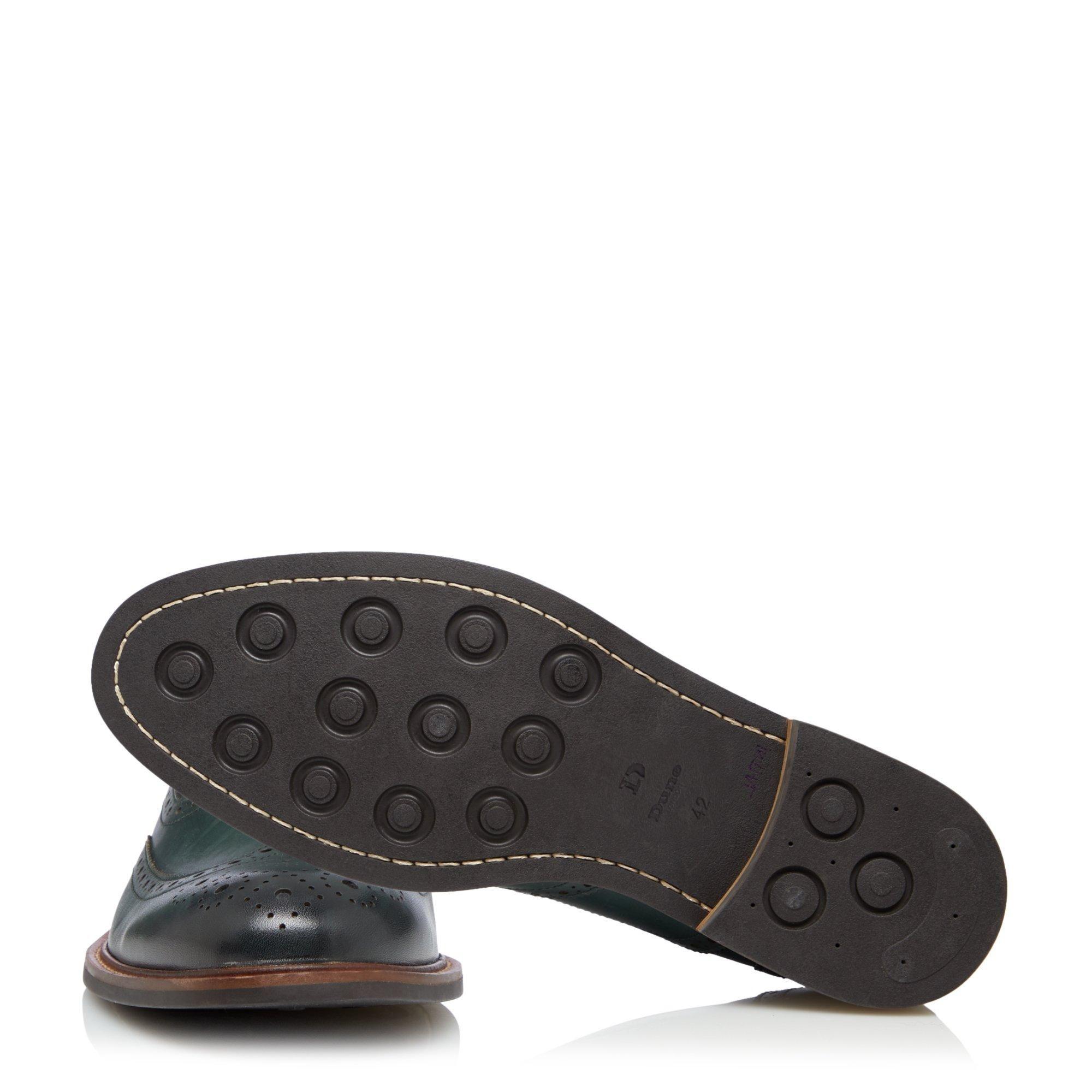 Dune Mens POLLODIUM Heavy Brogue Shoes