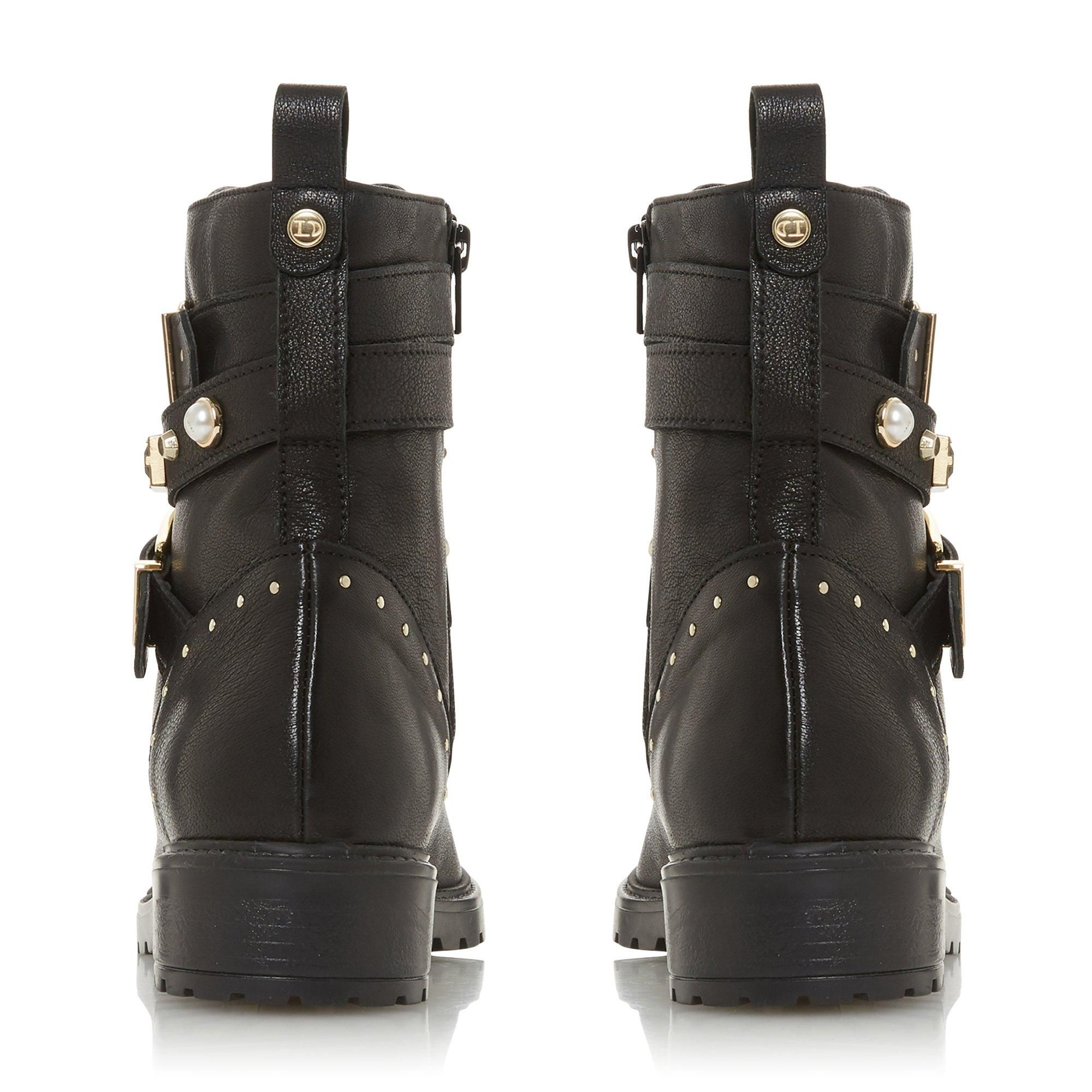 Dune Ladies POPULAR Studded Multistrap Boots